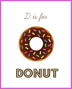 2014 D for donut